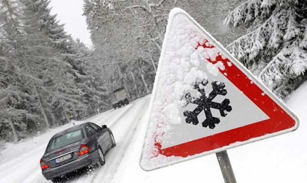 conducir sobre la nieve