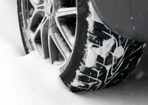 presión de neumáticos en invierno