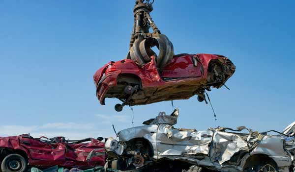 reciclar un coche