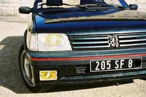 coche extranjero
