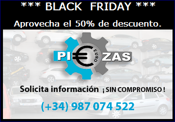 BLACK FRIDAY EUROPIEZAS