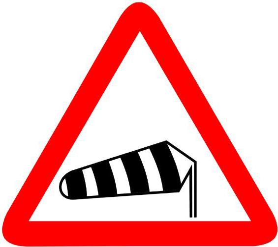 Conducir con ráfagas de viento