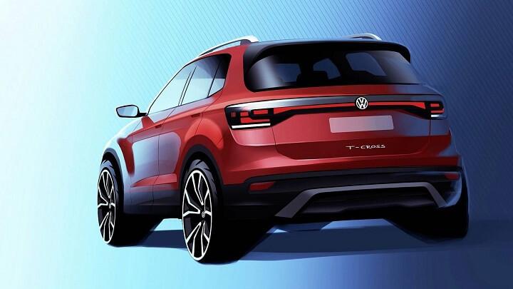 Volkswagen T-Cross primera imagen teaser
