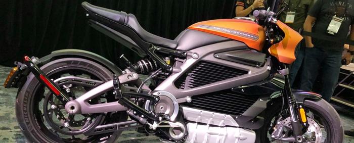 moto electrica Harley-Davidson
