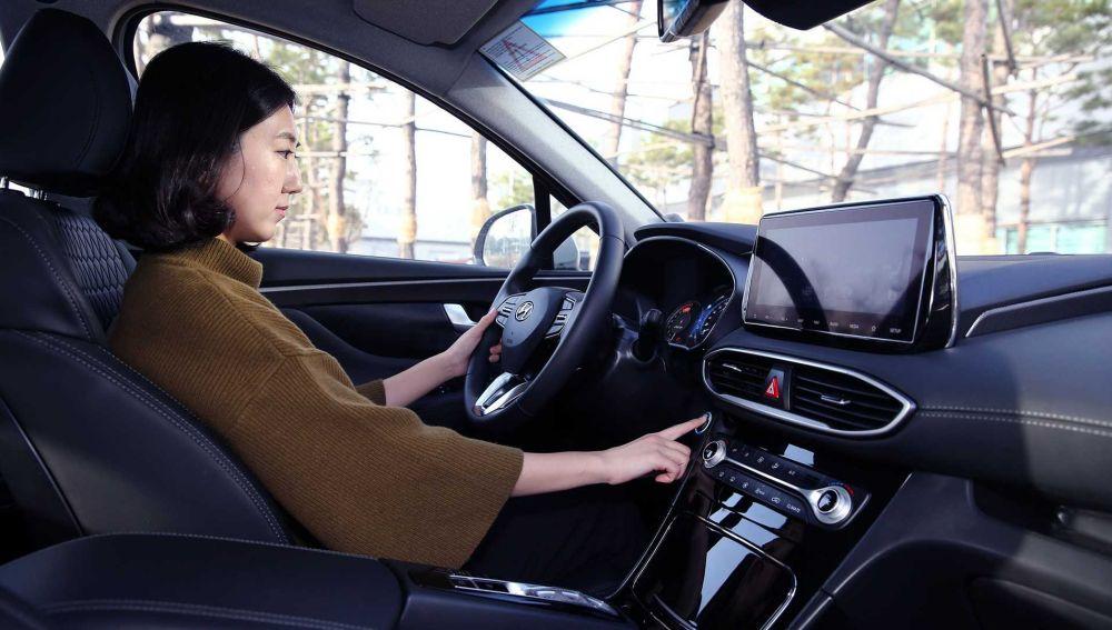 Hyundai Santa Fe arranque con huella digital